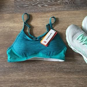 New Balance Sports Bra Blue New